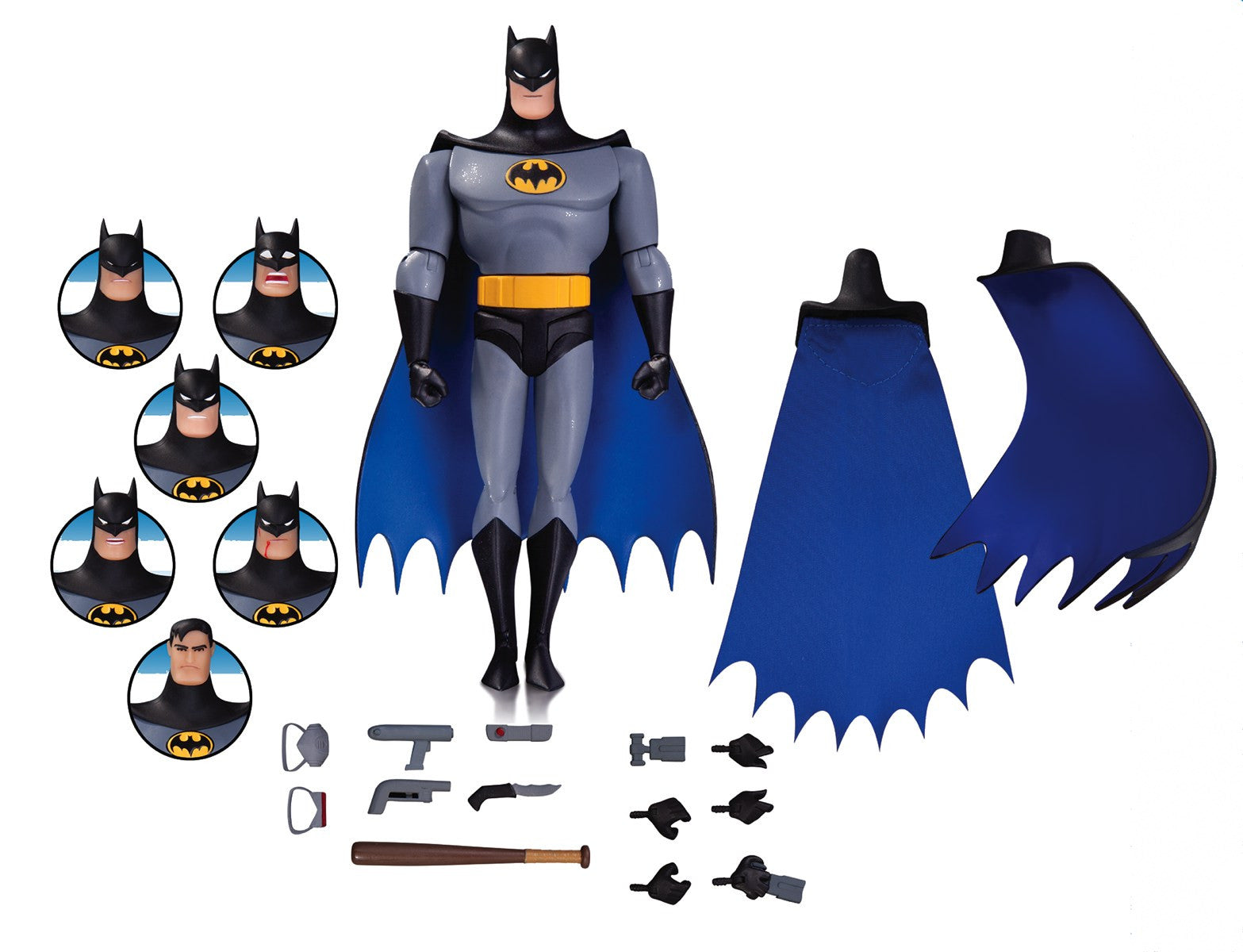 Batman Animated Series: Batman Expressions Pack DC Collectibles -DC Collectibles - India - www.superherotoystore.com