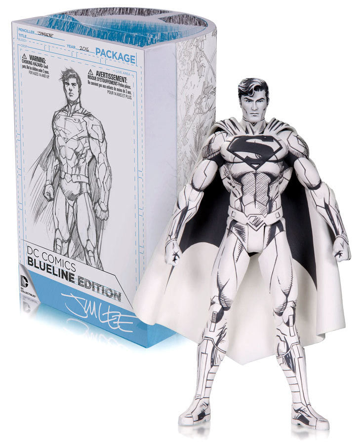 SDCC BlueLine Edition Superman Action Figure by DC Collectibles-DC Collectibles- www.superherotoystore.com-Action Figure
