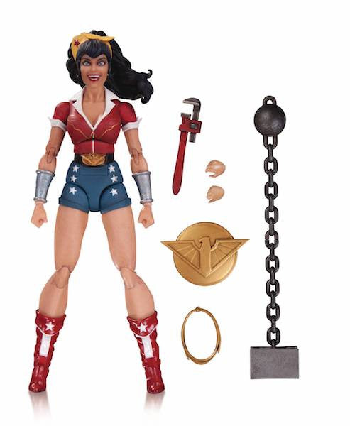 DC Bombshells Wonder Woman Action Figure by DC Collectibles