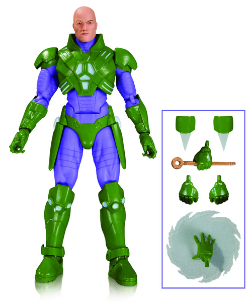 DC Icons Lex Luthor Forever Evil Action Figure by DC Collectibles-DC Collectibles- www.superherotoystore.com-Action Figure