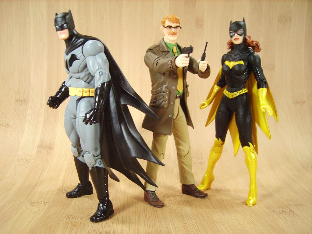 DC Comics Designer Series Commissioner Gordon by Greg Capullo Action Figure-DC Collectibles- www.superherotoystore.com-Action Figure - 3