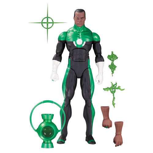 DC Icons Green Lantern John Stewart Figure by DC Collectibles-DC Collectibles- www.superherotoystore.com-Action Figure