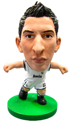 Angel Di María - Real Madrid Home Kit-Soccer Starz- www.superherotoystore.com-Action Figure - 1