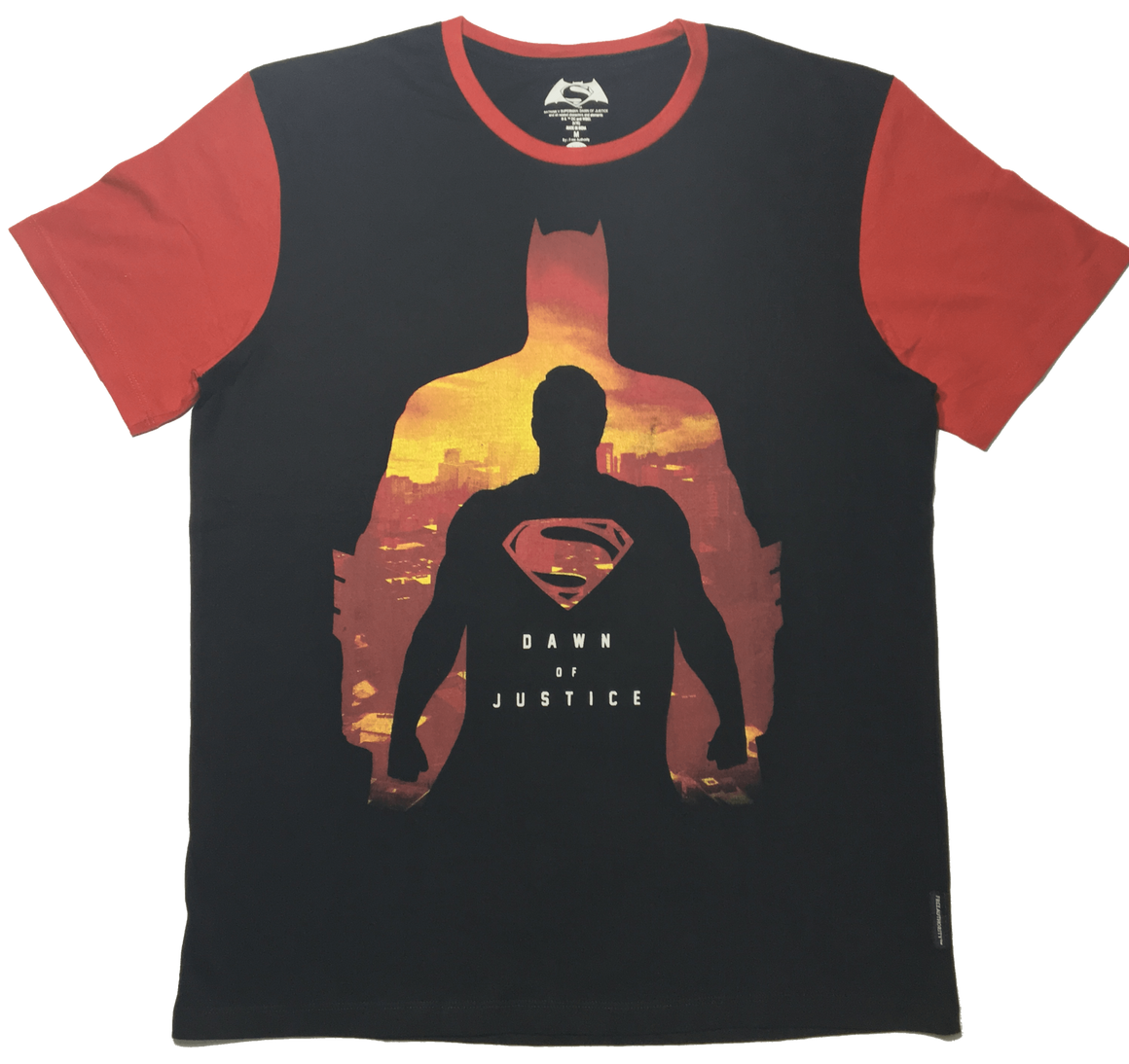 Dawn of Justice Black T-Shirt by Bio World-Bio World- www.superherotoystore.com-T-Shirt