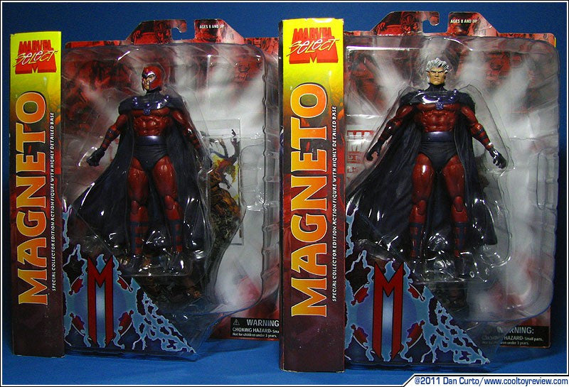 Marvel Select Magneto Action Figure-Diamond Select toys- www.superherotoystore.com-Action Figure - 5