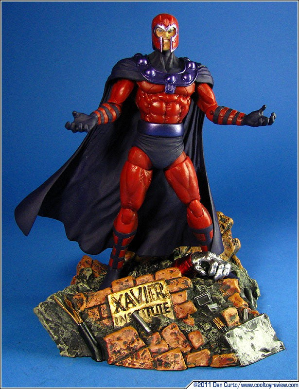 Marvel Select Magneto Action Figure-Diamond Select toys- www.superherotoystore.com-Action Figure - 2