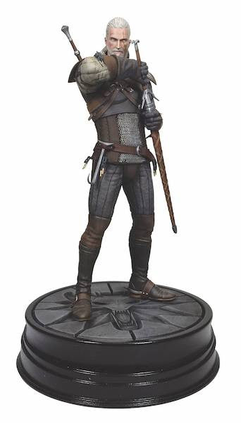 Witcher 3 Wild Hunt Geralt of Rivia Figure by Dark Horse Comics-Dark Horse- www.superherotoystore.com-Statue