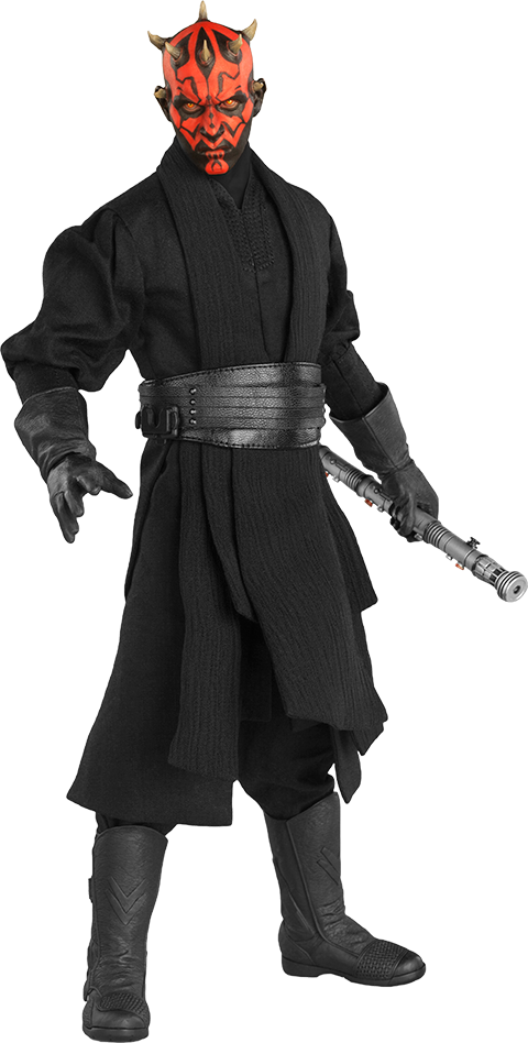 Darth Maul (Episode I) Action Figure-Sideshow Collectibles- www.superherotoystore.com-Action Figure - 1