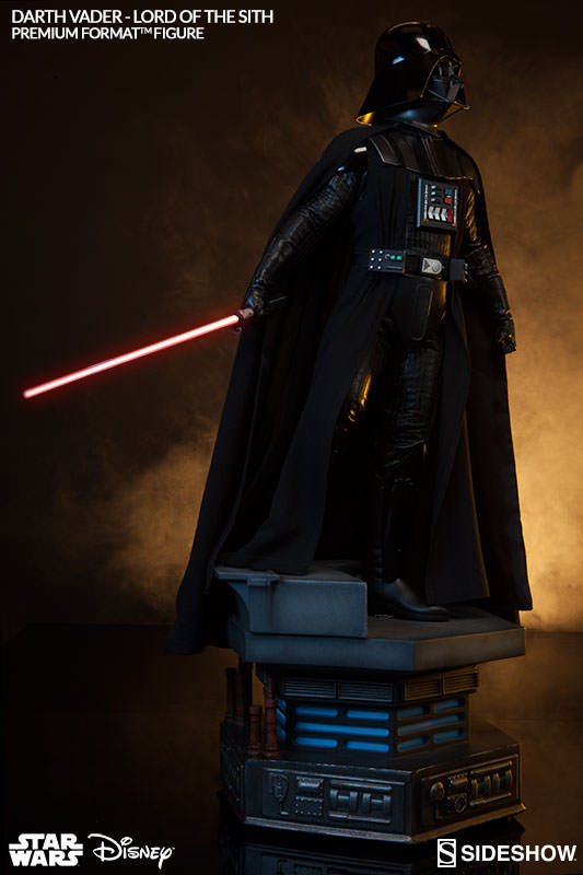Darth Vader 1/4th Scale Premium Format Figure by Sideshow Collectibles-Sideshow Collectibles- www.superherotoystore.com-Statue - 3