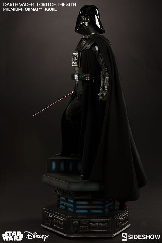Darth Vader 1/4th Scale Premium Format Figure by Sideshow Collectibles-Sideshow Collectibles- www.superherotoystore.com-Statue - 5