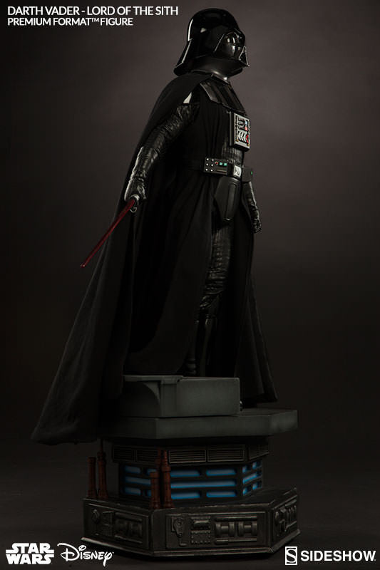 Darth Vader 1/4th Scale Premium Format Figure by Sideshow Collectibles-Sideshow Collectibles- www.superherotoystore.com-Statue - 7