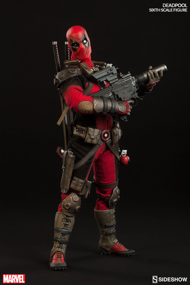 Deadpool 1/6th Scale Action Figure by Sideshow Collectibles-Sideshow Collectibles- www.superherotoystore.com-Action Figure - 4