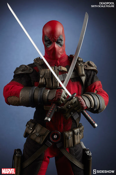 Deadpool 1/6th Scale Action Figure by Sideshow Collectibles-Sideshow Collectibles- www.superherotoystore.com-Action Figure - 1
