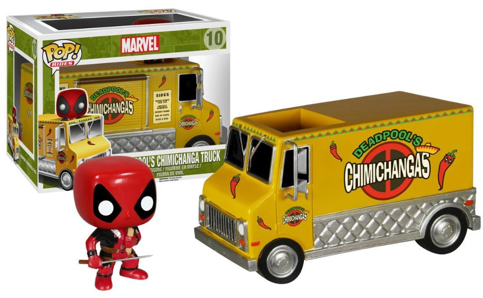 Deadpool's Chimicanga Truck POP-Funko- www.superherotoystore.com-Bobble Heads
