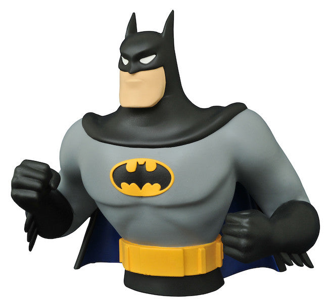 Batman Animated Series: Batman Bust Bank by Diamond Select Toys-Diamond Select toys- www.superherotoystore.com-Action Figure - 1