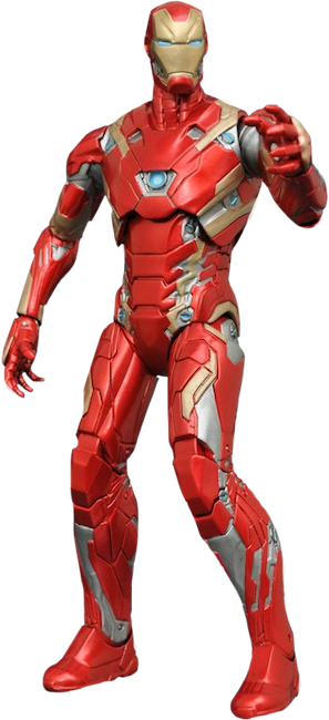Civil War: Iron Man Mark XLV Action Figure by Diamond Select Toys