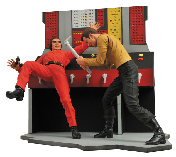 Star Trek Select Captain Kirk Action Figure-Diamond Select toys- www.superherotoystore.com-Statue - 1
