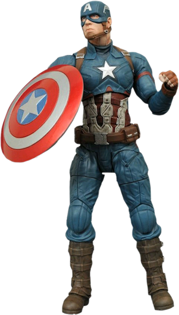 Civil War: Captain America Action Figure by Diamond Select Toys