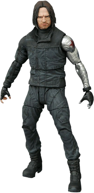 Civil War: Winter Soldier Action Figure by Diamond Select Toys