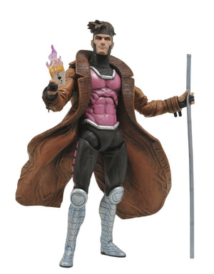 Marvel Select Gambit Action Figure-Diamond Select toys- www.superherotoystore.com-Action Figure