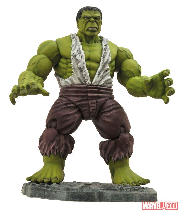 Marvel Select Savage Hulk Action Figure-Diamond Select toys- www.superherotoystore.com-Action Figure - 1