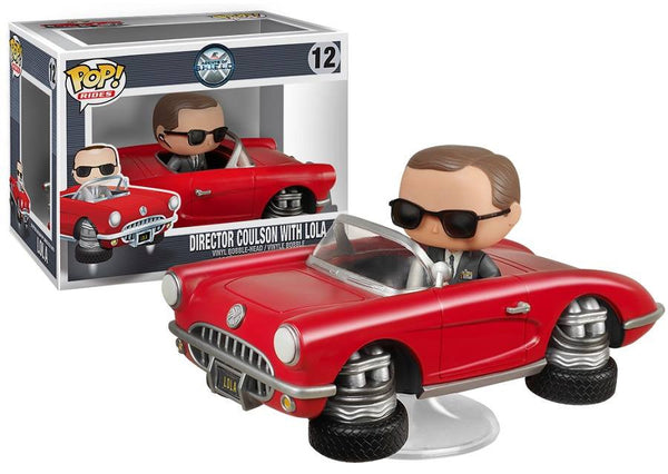 Avengers Director Coulson with Lola POP vinyl-Funko- www.superherotoystore.com-Bobble Heads