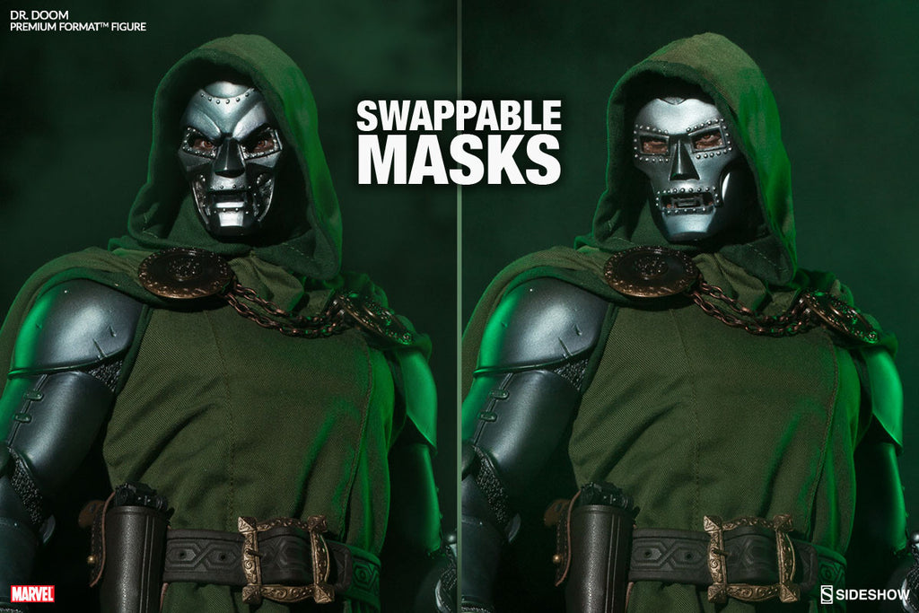 Doctor Doom 1/4th Scale Premium Format Statue by Sideshow Collectibles-Sideshow Collectibles- www.superherotoystore.com-Statue - 5