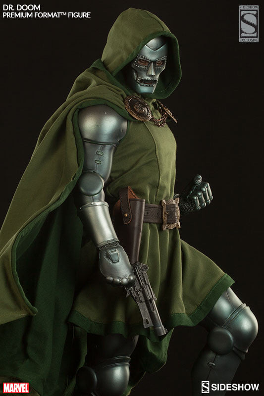 Doctor Doom 1/4th Scale Premium Format Statue by Sideshow Collectibles-Sideshow Collectibles- www.superherotoystore.com-Statue - 2