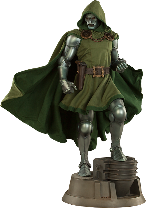 Doctor Doom 1/4th Scale Premium Format Statue by Sideshow Collectibles-Sideshow Collectibles- www.superherotoystore.com-Statue - 1