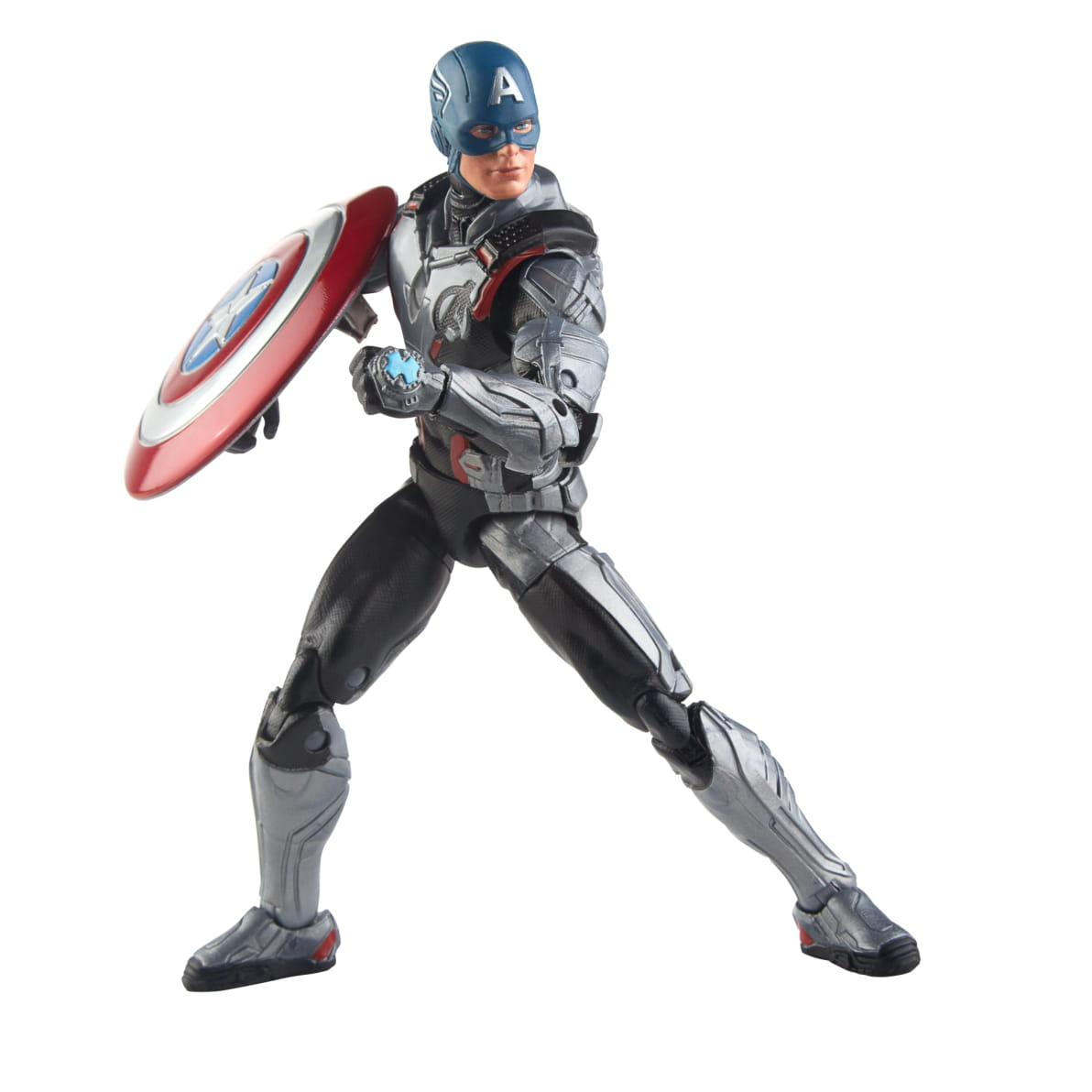 Avengers EndGame Suited Captain America Marvel Legends Figure by Hasbro