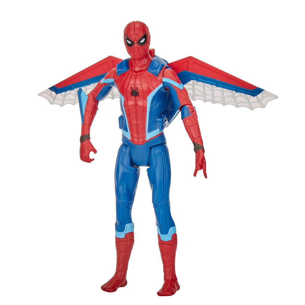 Spiderman Far From Home: Glider Gear Spiderman Figure by Hasbro