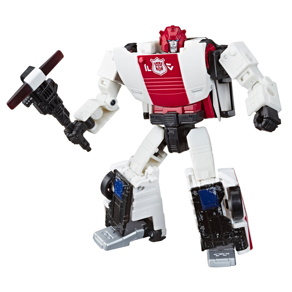 Transformers Siege War For Cybertron Red Alert Deluxe Class Figure by Hasbro -Hasbro - India - www.superherotoystore.com