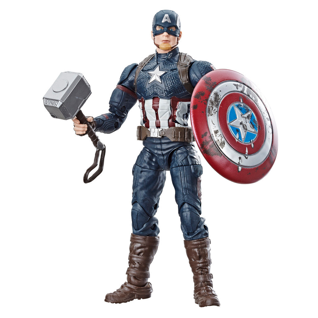Avengers Endgame: Worthy Captain America Marvel Legends Figure by Hasbro