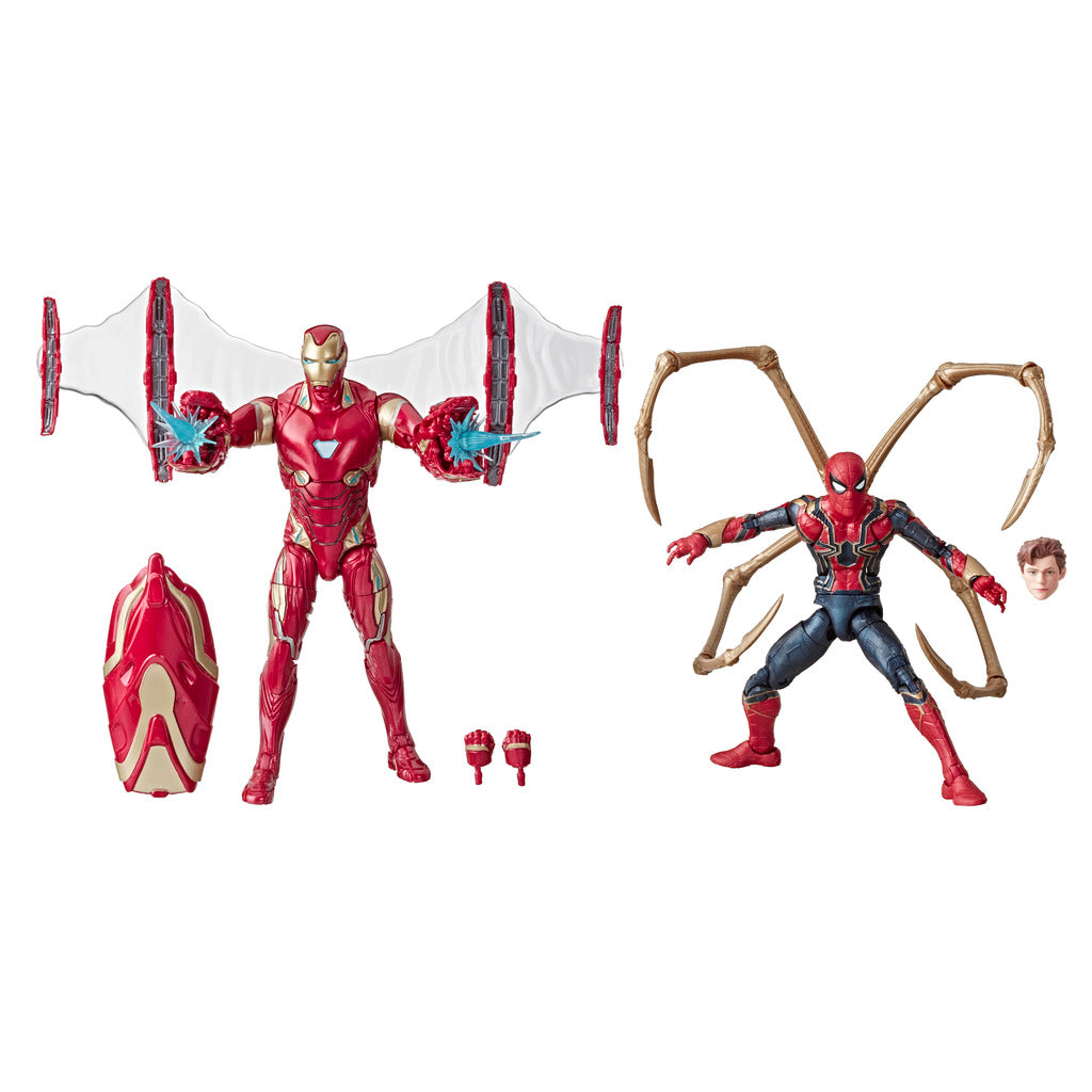 Marvel 80th Anniversary: Avengers Infinity War - Iron Man & Iron Spider Marvel Legends Figures by Hasbro