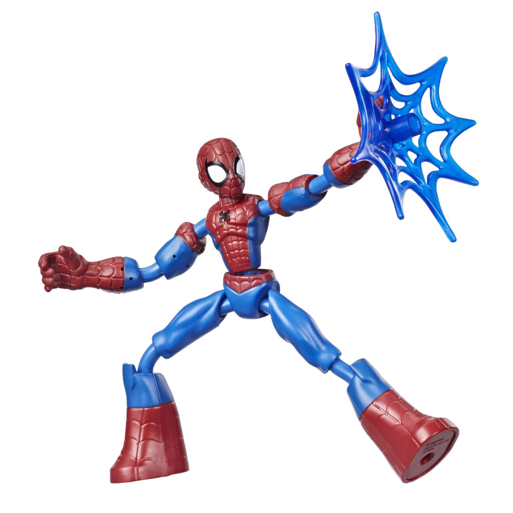 Avengers Bend & Flex Spiderman Figure by Hasbro -Hasbro - India - www.superherotoystore.com