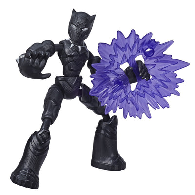 Avengers Bend & Flex Black Panther Figure by Hasbro -Hasbro - India - www.superherotoystore.com