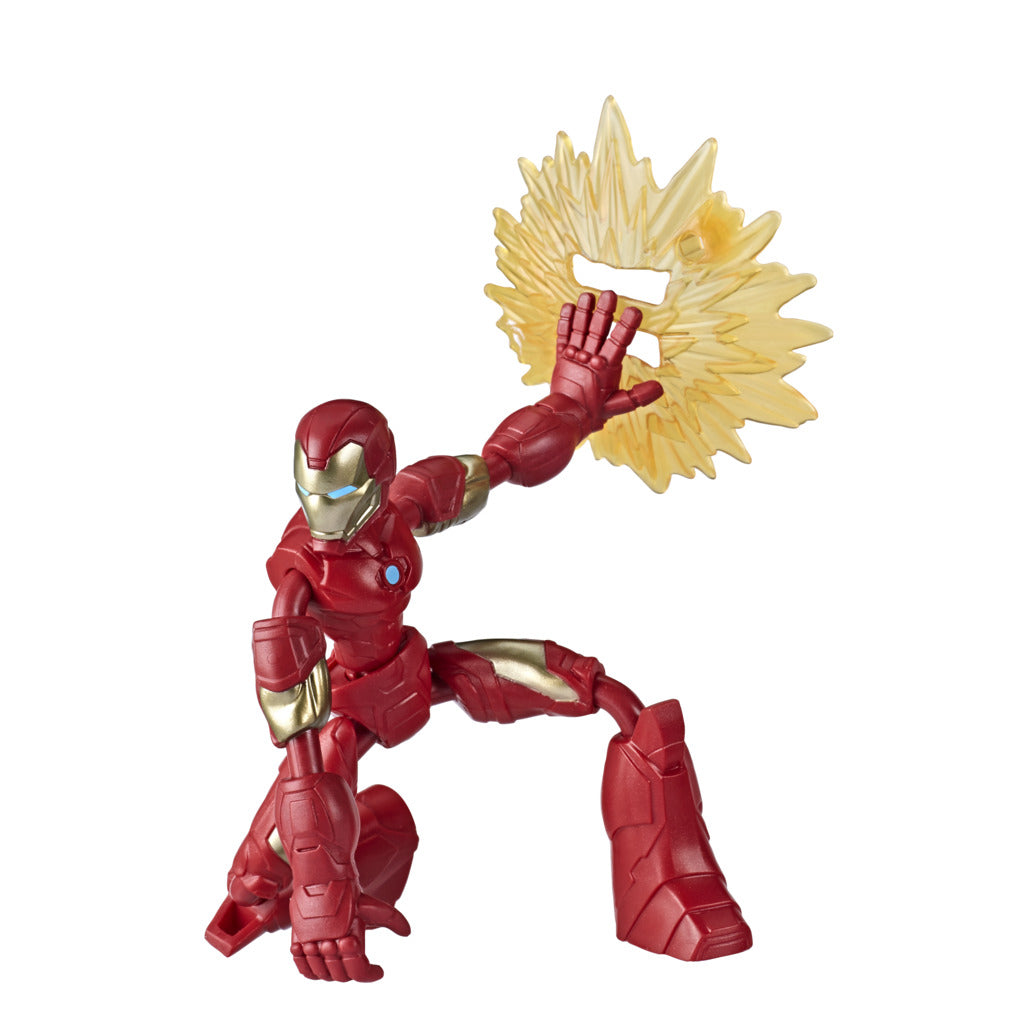 Avengers Bend & Flex Iron Man Figure by Hasbro