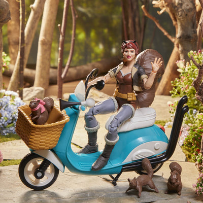 The Unbeatable Squirrel Girl with Vespa Vehicle Marvel Legends Figure by Hasbro -Hasbro - India - www.superherotoystore.com