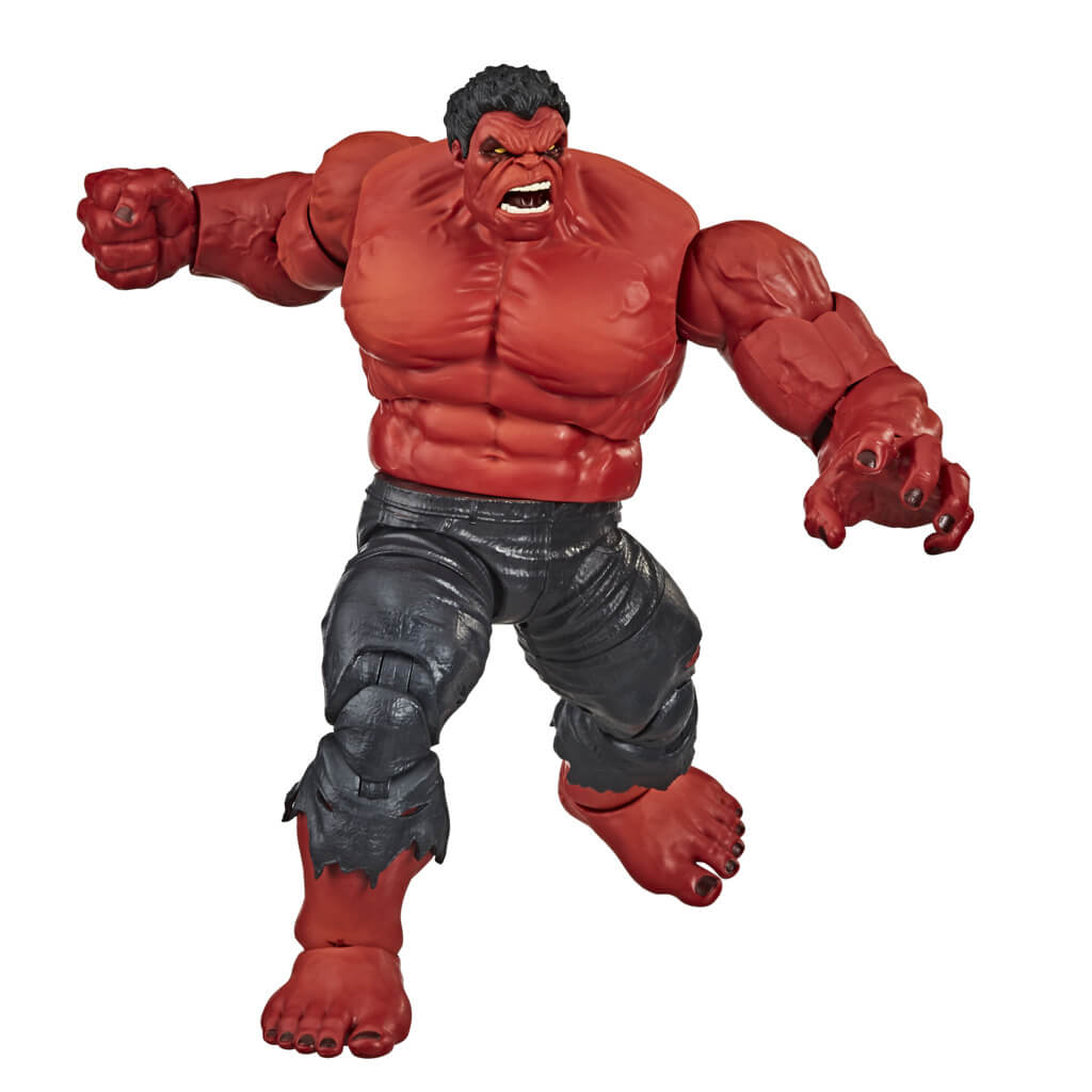Avengers Marvel Legends Red Hulk Figure by Hasbro