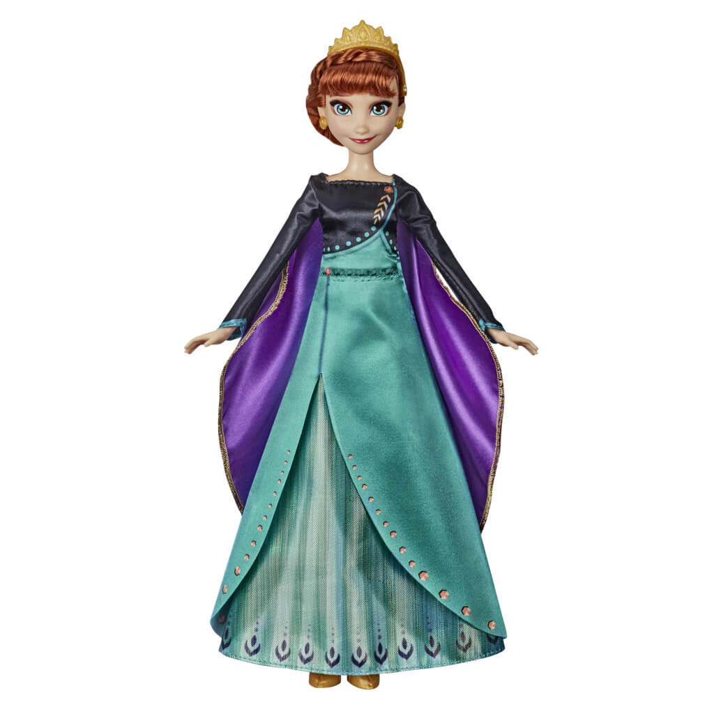 Frozen 2 Musical Adventure Anna Figure by Hasbro