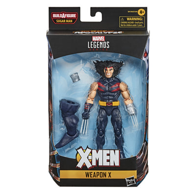 X Men Sugar Man BAF: Weapon X Marvel Legends Figure by Hasbro -Hasbro - India - www.superherotoystore.com
