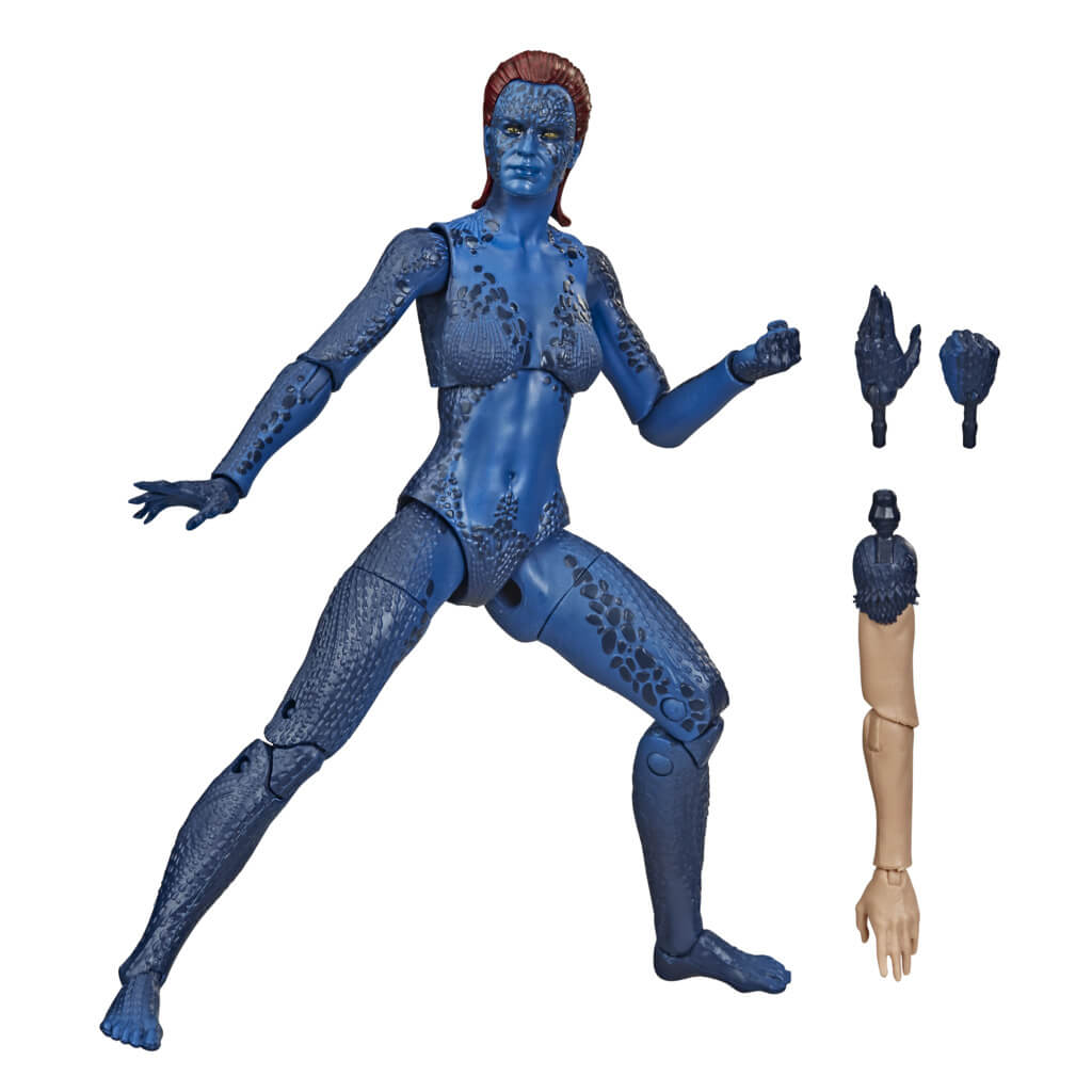 X-Men 20th Anniversary Mystique Marvel Legends Figure by Hasbro -Hasbro - India - www.superherotoystore.com