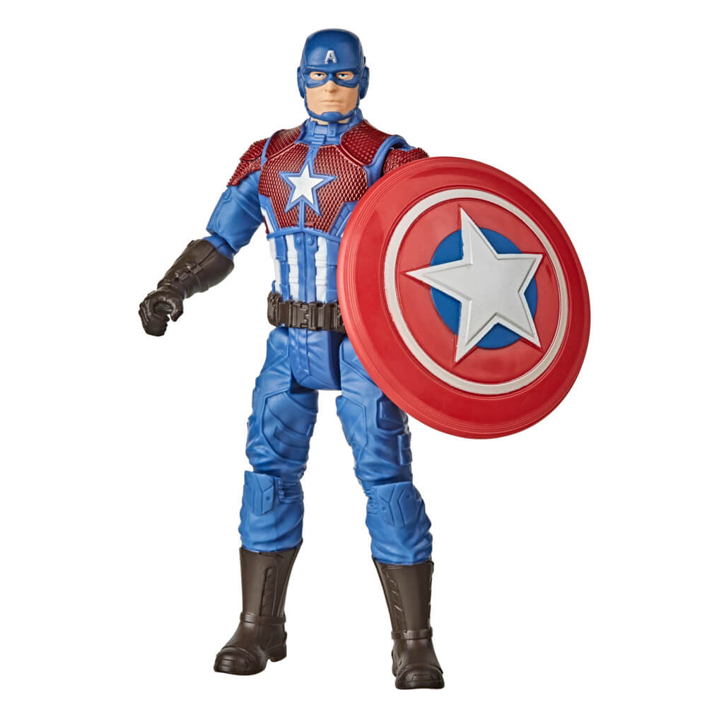 Marvel Avengers Gameverse 6-Inch Captain America Figure by Hasbro -Hasbro - India - www.superherotoystore.com