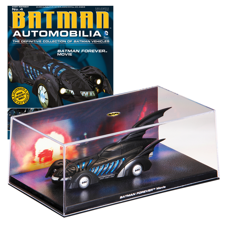 Batman Automobilia No. 4 The Definitive Collection of Batman-Eaglemoss Publications- www.superherotoystore.com-Action Figure