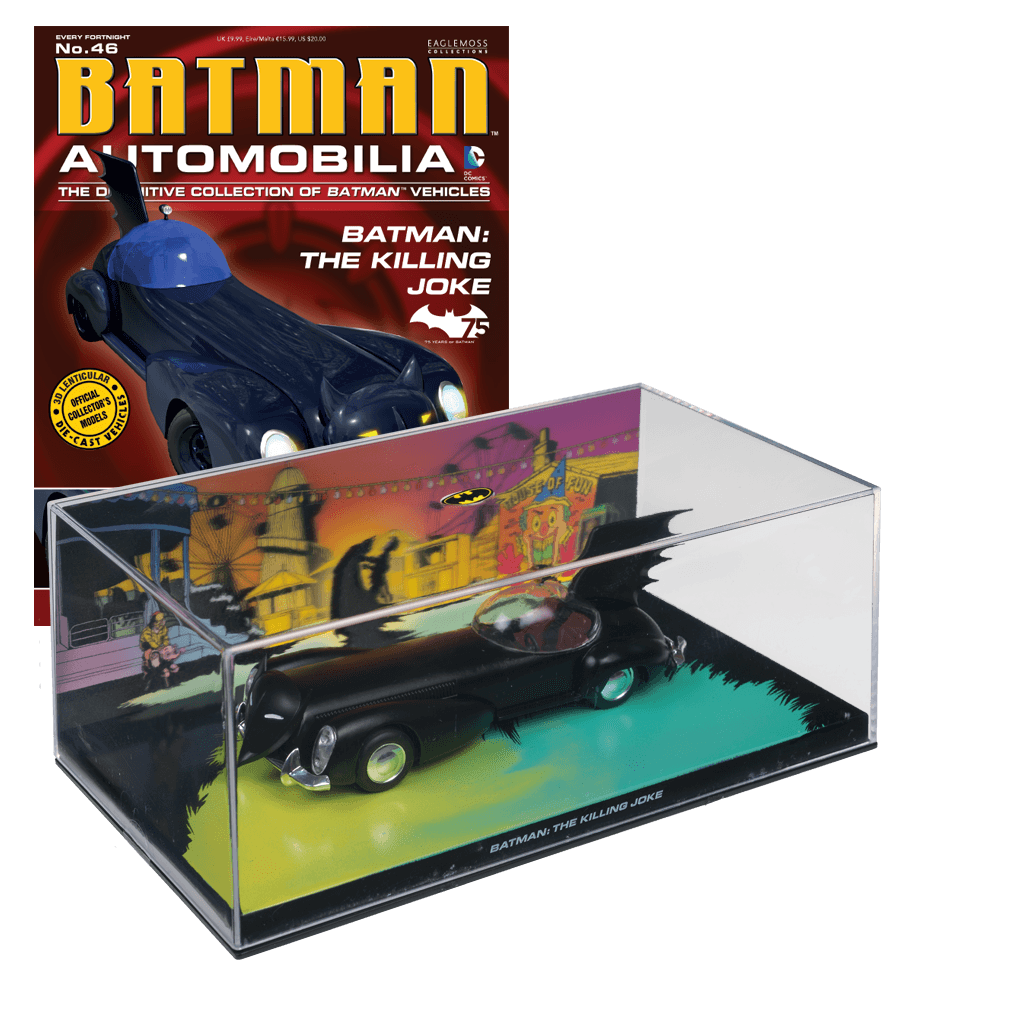 Batman Automobilia The Killing Joke-Eaglemoss Publications- www.superherotoystore.com-Action Figure