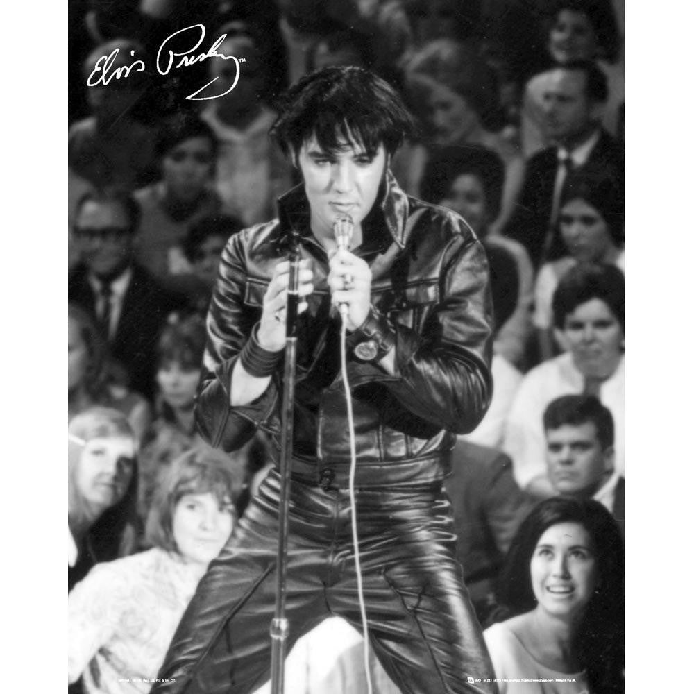 Elvis 68- Mini Poster -Superherotoystore.com - India - www.superherotoystore.com