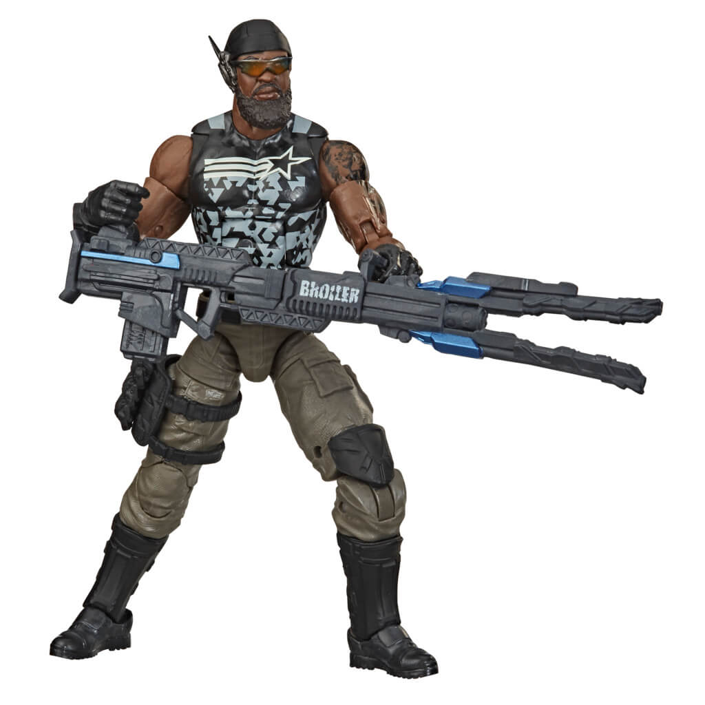 GI Joe Classified Series Roadblock Action Figure by Hasbro -Hasbro - India - www.superherotoystore.com