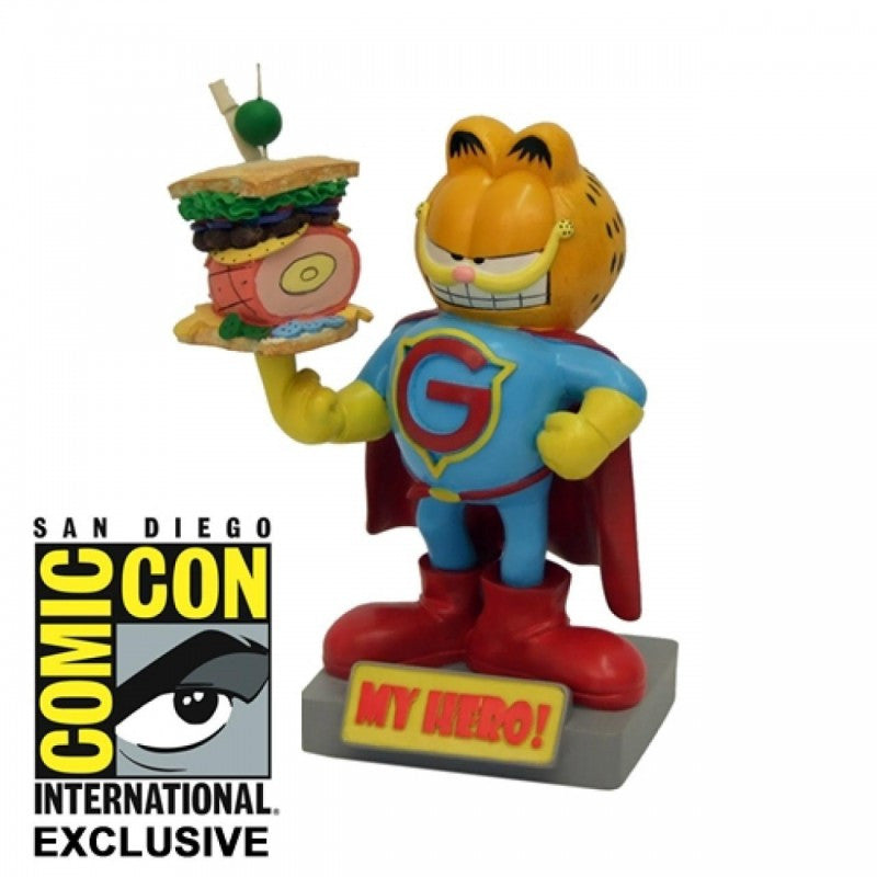 Garfield Cat My Hero Bobble Head by Factory Entertainment (Refurbished) -Factory Entertainment - India - www.superherotoystore.com