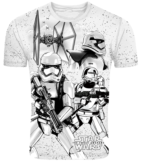 First Order Stormtroopers T-Shirt-Frog- www.superherotoystore.com-T-Shirt - 1