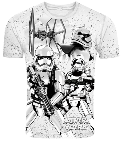 First Order Stormtroopers T-Shirt -Frog - India - www.superherotoystore.com